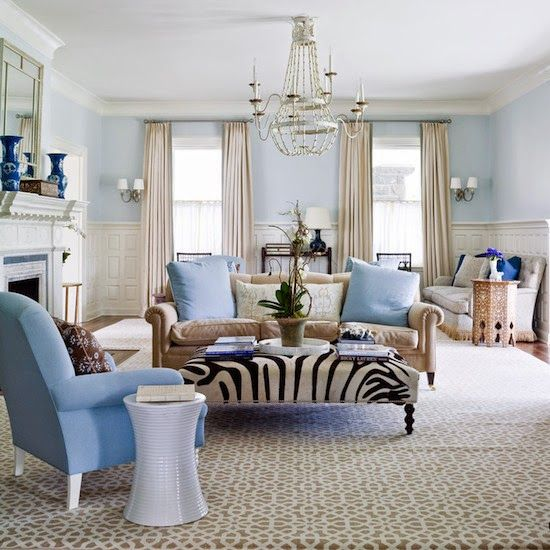 designer lee ann thornton love the zebra ottoman pitch perfect living room - Living Rooms With Ottomans