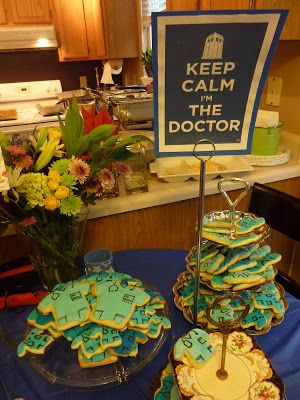 The Nantucket Life: Graduation Party Ideas, cookie table