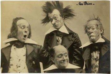 Photographies vintages de Clowns pas forcément drôles ~ Le Bouquinovore