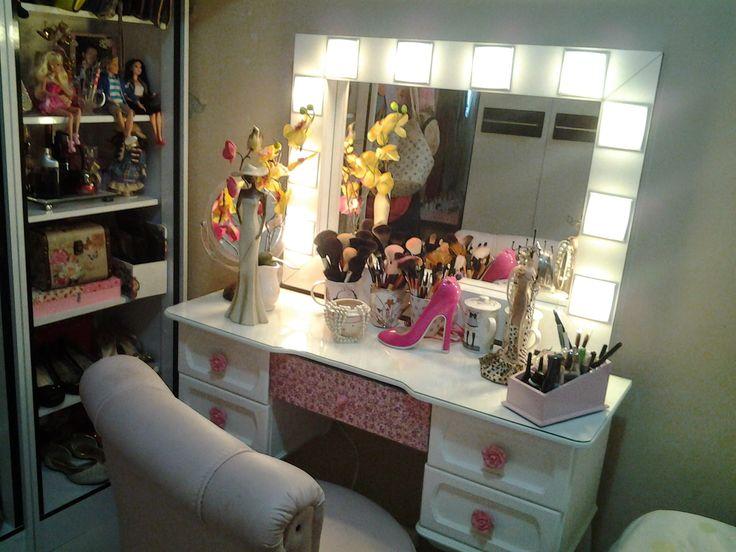 Espelho camarim..feito pelo Paulo Renato