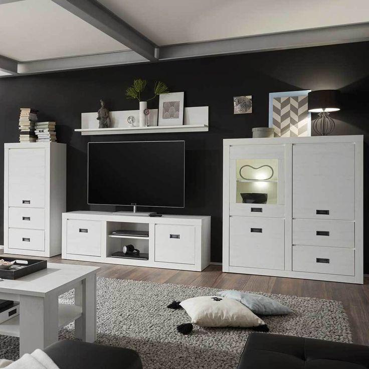 Die besten 25+ Moderne wohnwände Ideen auf Pinterest moderne TV - schrank wohnzimmer weiß