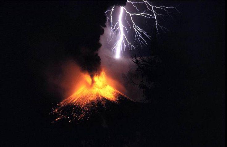 Indonesia - Lombok Mount Rinjani volcanic eruption