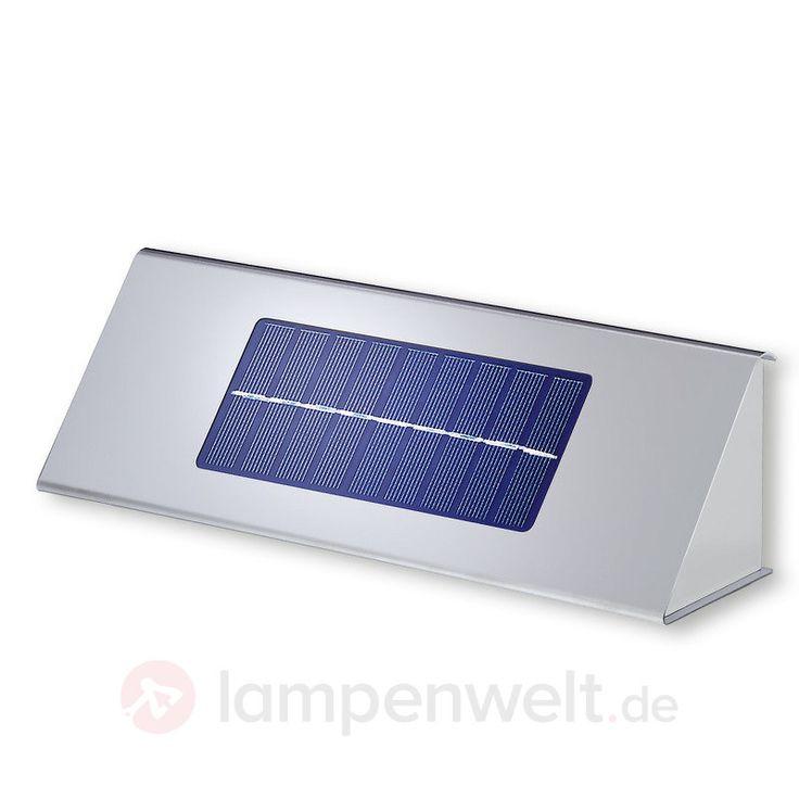Profi K-I - Solar-Wandleuchte Edelstahl