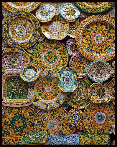 Sicilia Erice Ceramics #TuscanyAgriturismoGiratola
