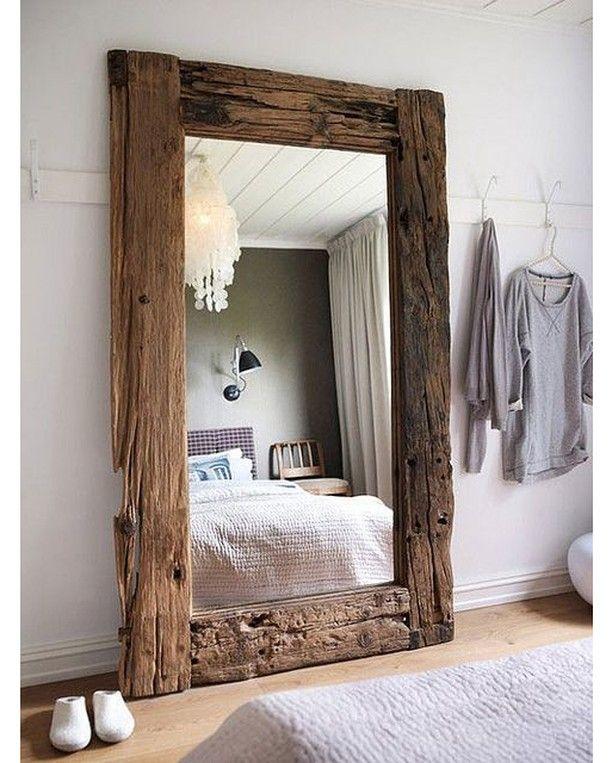 Raw Wood Mirror  via @homeadore --- #homeadore #design #designer #furniture #walldecor #mirror #driftwood #indoor #instahome #instadesign #architect #beautiful #home #homedecor #decor #decoration #interiordesign #interior #interiors #style #luxury #beautiful #product