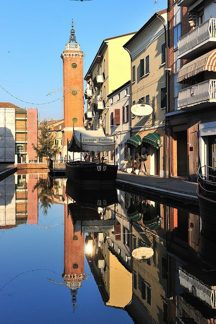 Comacchio, Italy | #VearHausing for your vacation in Lidi Ferraresi www.vear.it