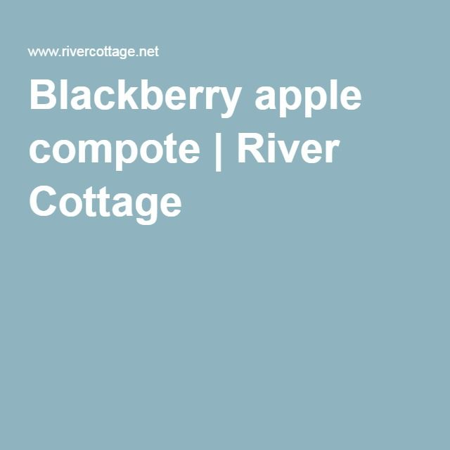 Blackberry apple compote | River Cottage - 1 cinnamon stick, 1 star anise, 1/2 t granulated lemon peel, transparent apples. Almost filled pint and 1/2 jar.