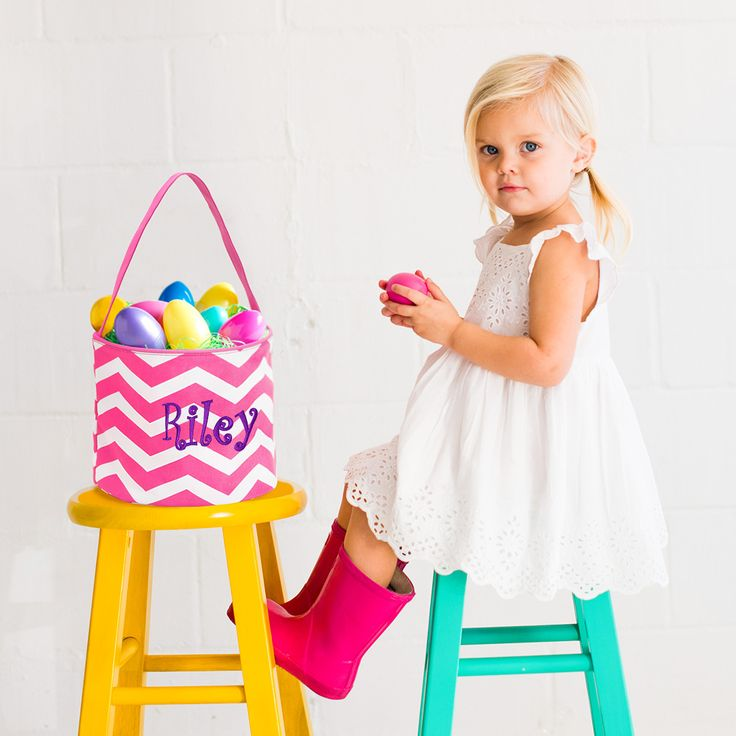 35 best personalized easter baskets images on pinterest pink chevron easter basket available at personalizeyouritems 23 negle Choice Image