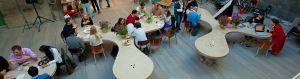 El significado de un nombre. Definición de espacios: un hub, un medialab.