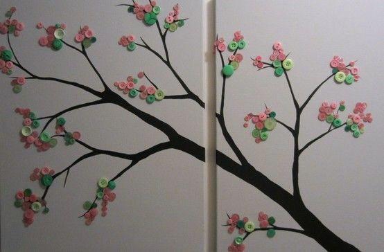 Copaci cu nasturi model 4