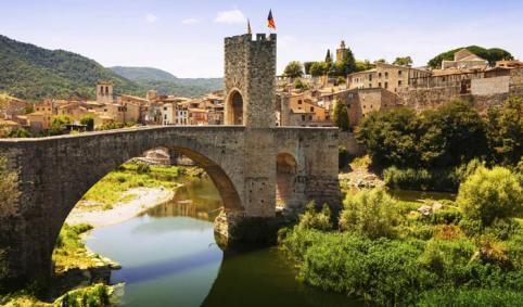 Besalú,Cataluña, España