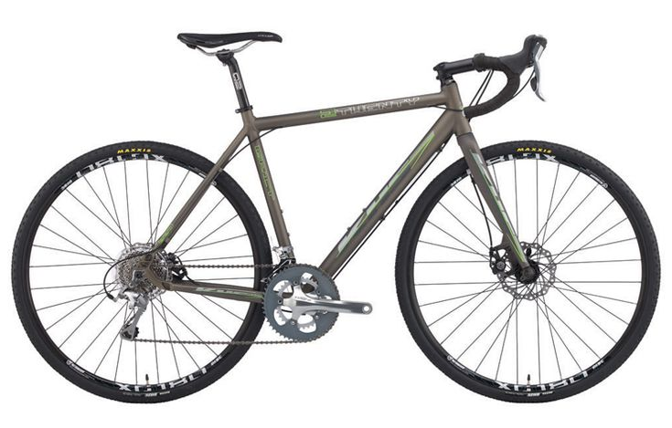 KHS Grit 220  http://www.bicycling.com/bikes-gear/recommended/17-for-2017-best-adventure-and-cyclocross-bikes/slide/5
