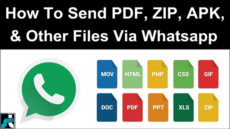 How To Send Apk Zip Doc Pdf Exe & Other Files On Whatsapp