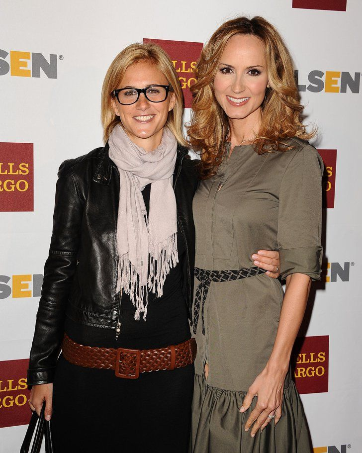 "Pin for Later: Same-Sex Celebrity Couples Say ""I Do"" Chely Wright and Lauren Blitzer Country singer Chely Wright married her partner, Lauren Blitzer, at a private home in Connecticut in August 2011. They have twin sons together."