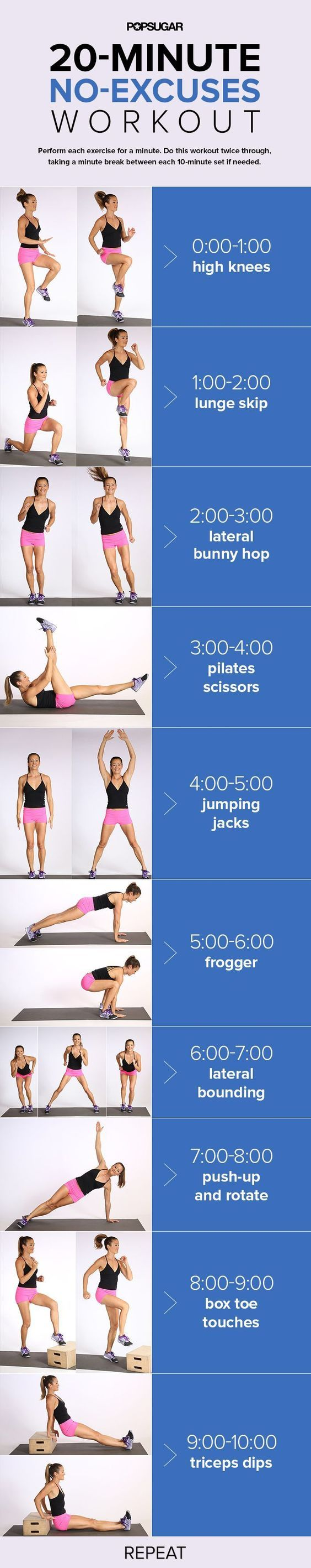 Get ready to hop, skip, and jump your way to fit by doing bodyweight exercises that burn calories and tone you all over.: