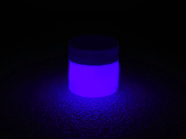 Phosphorescent Glow in the Dark Paint - Purple - GLO Effex