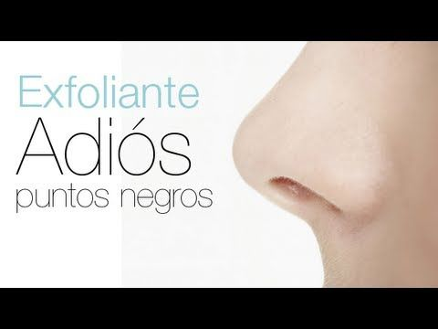 """▶ Adios a los puntos negros """"Mascarilla Exfoliante casera"""" - YouTube"""