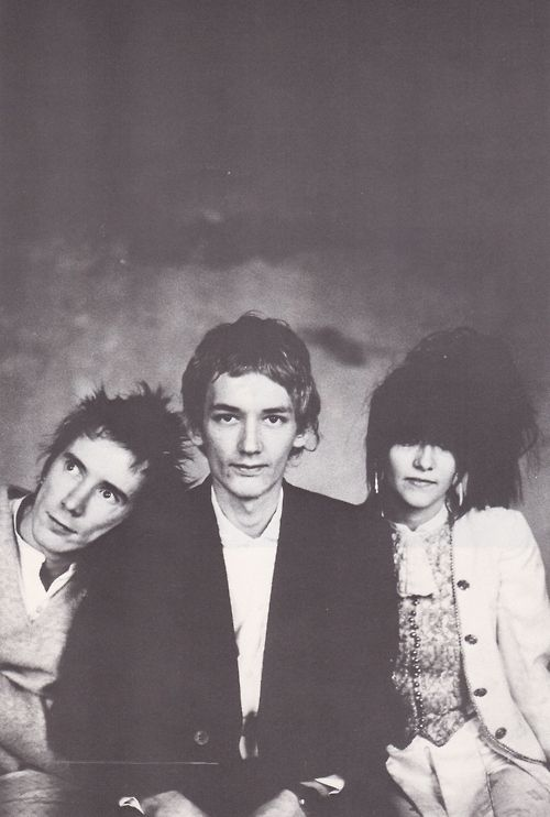 PiL (1981). John Lydon, Keith Levene and Jeannette Lee.
