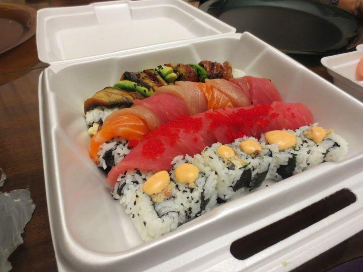 I'm totally craving sushi |Big Dude Likes Food