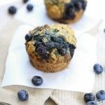 Whole Wheat Blueberry Muffins for two | Good Life Eats