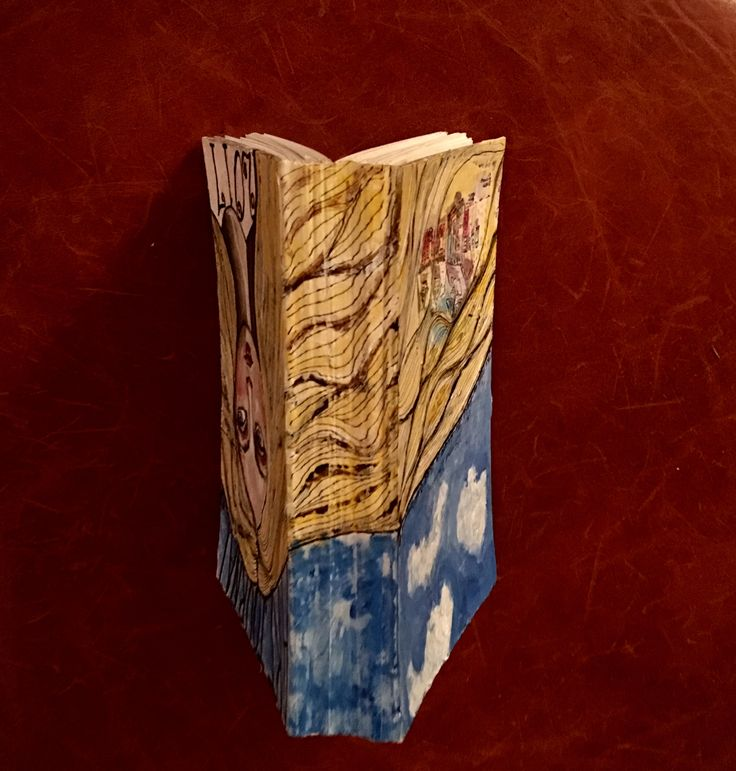 Cover spine...made this book with my own hands.❤️