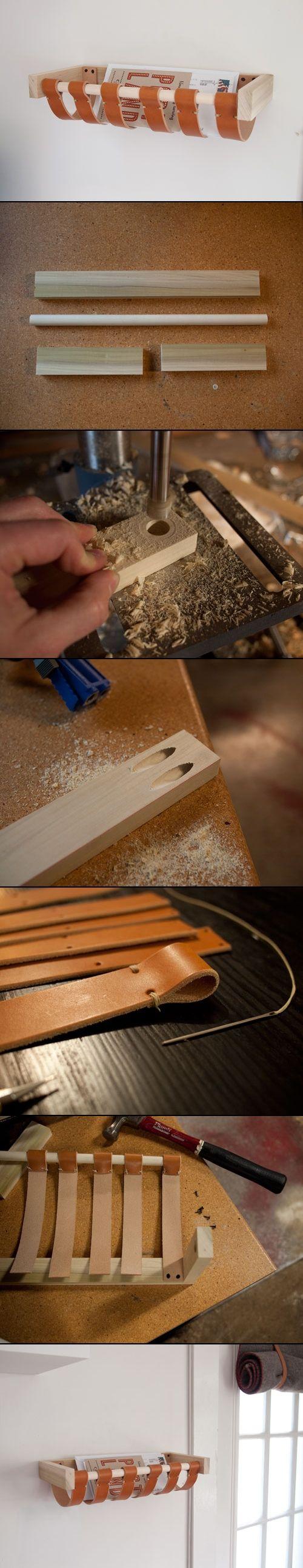 DIY PROJECT: MAIL BASKET