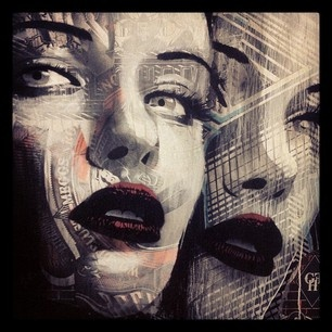 Rone, not a screen print but beautiful