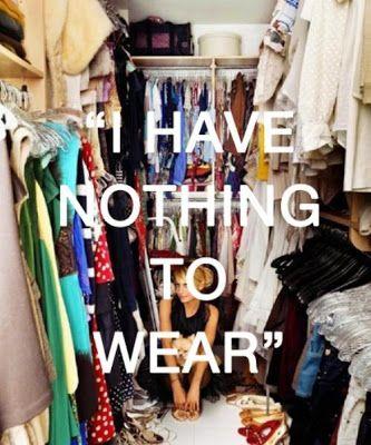 Η ΔΙΑΔΡΟΜΗ ®: Δεν έχω τίποτα να βάλω