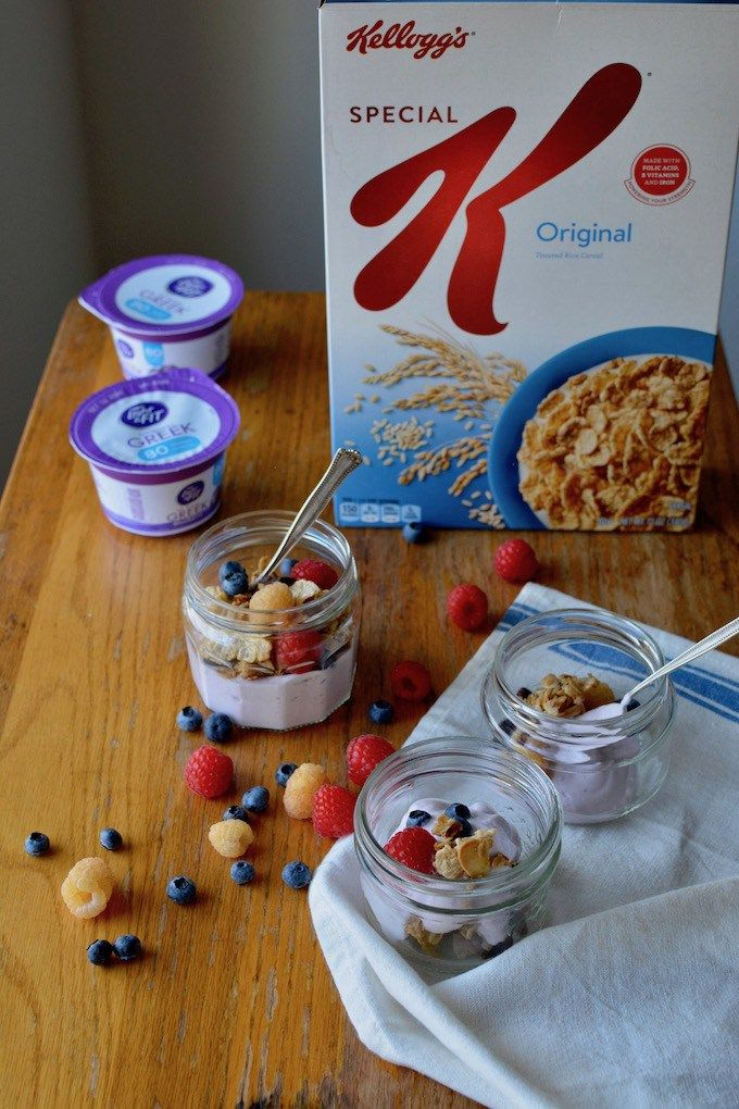 Quick Stove Top Granola Yogurt Parfaits Receta Cosas Y Sana