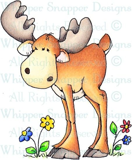 Mustang - Woodland - Animals - Rubber Stamps - Shop