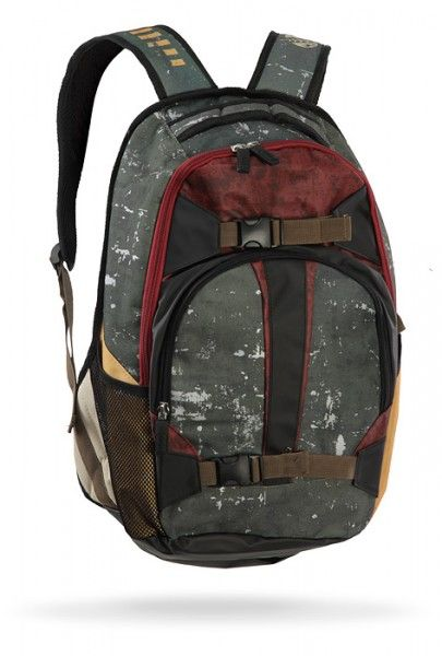 Boba Fett Backpack!...My backpack needs jets, I'll be Boba the Fett, I'll bounty hunt for Jabba Hutt to finance my Vette....