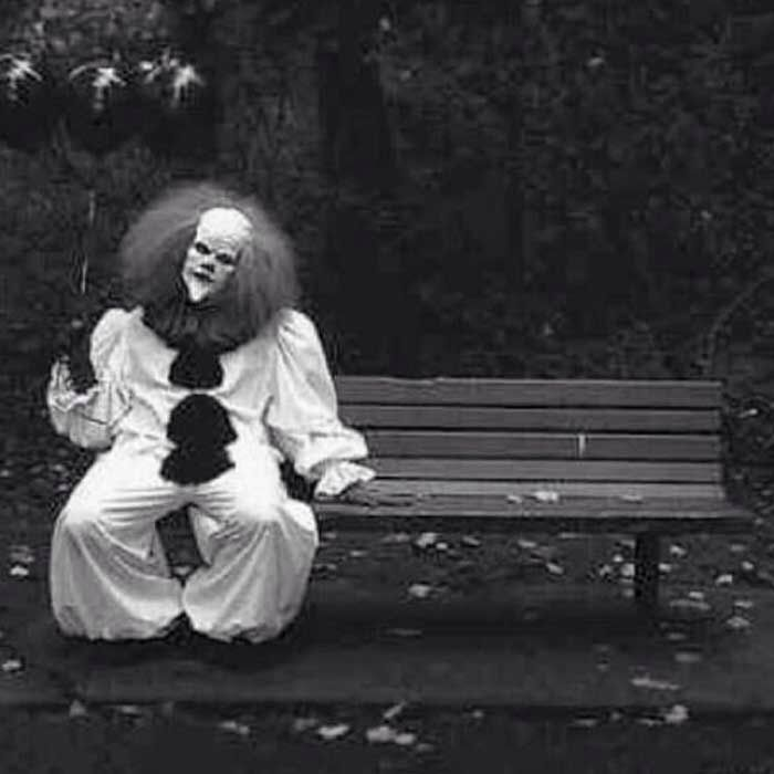 A clown in the 70s