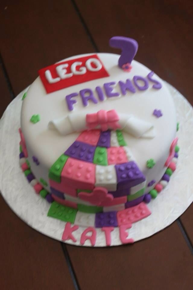 Birthday Cake Pictures For Friend : 17 Best images about Legos Ninjago and Lego Friends Cake ...