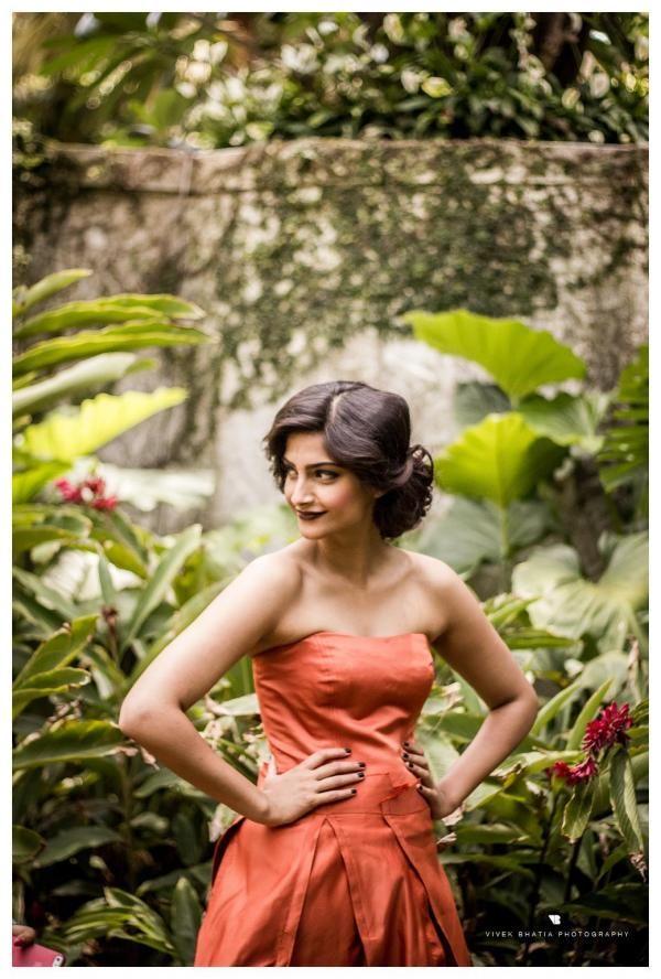 Sonam Kapoor's Filmfare shoot Behind the scenes. #Bollywood #Style #Fashion
