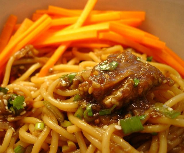 Eggplant Sesame Noodles
