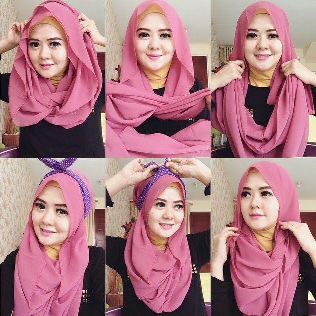 Kreasi Cara Memakai Jilbab Modern Yang Modis
