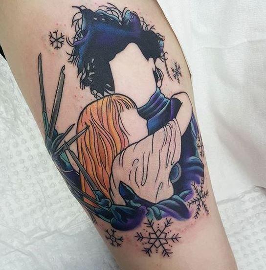 Tatuagem amantes de filmes e séries