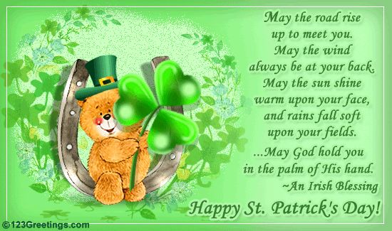Send  St Patrick's Day greeting cards  and Irish blessings to your. Description from omurtlak.bloguez.com. I searched for this on bing.com/images