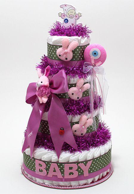 http://www.bebekbezipasta.com/4-katli-bez-pasta/sirinim-bez-pasta  DIAPER CAKE --- Our delightful diaper cakes are truly THE BEST baby shower gift !..