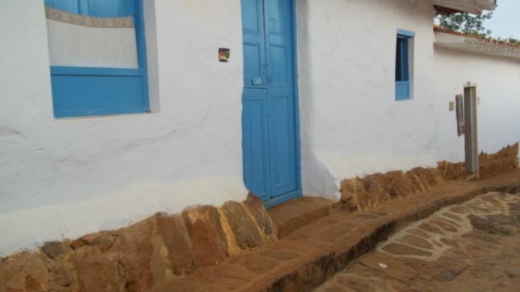 Casita típica, Barichara Colombia