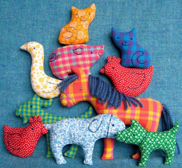 Big Farm Set - Little Softies sewing pattern