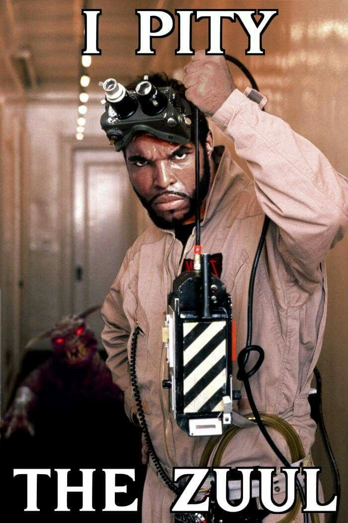 Ghostbusters/Mr. T?