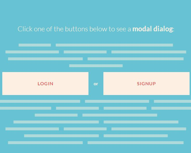 Login SignUp Morphing Buttons