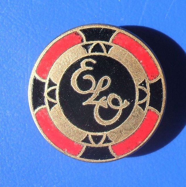 Electric Light Orchestra (ELO), music promotional badge (late 1970's)
