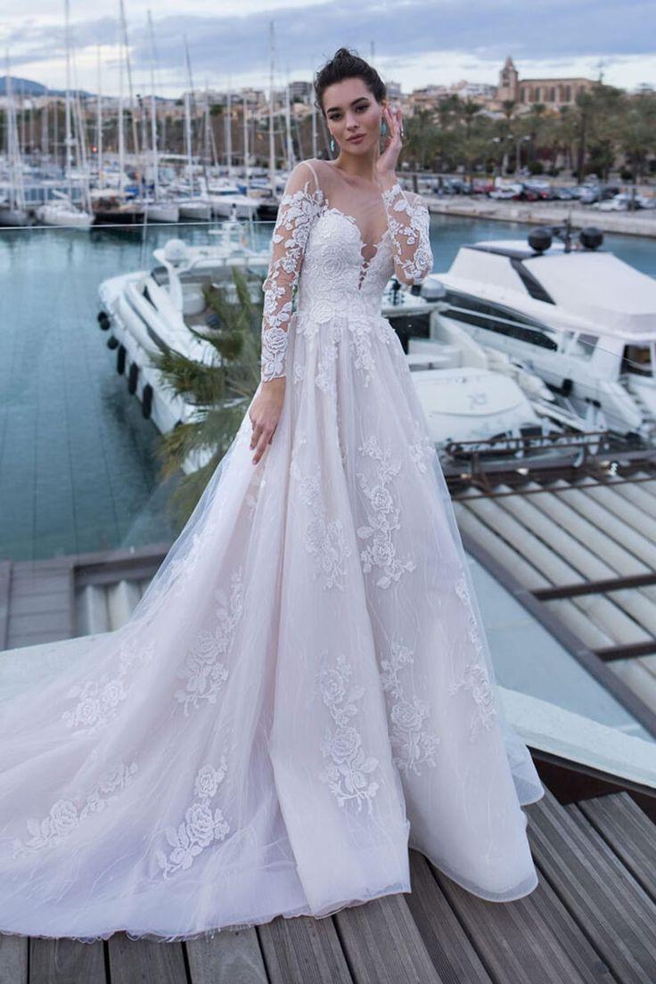 Pin de Sophia Weber em Hochzeitskleid