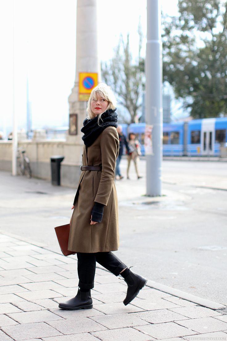 Anna Lindblom Modette Blundstone Black White In 2019