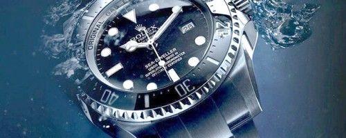 Αδιάβροχο επώνυμο rolex μεταχειρισμένο ασημένιο ρολόι