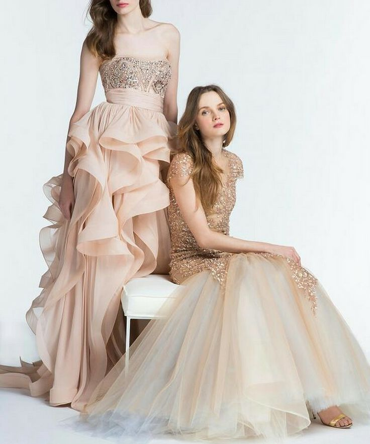 Evening dresses - robes de soirée