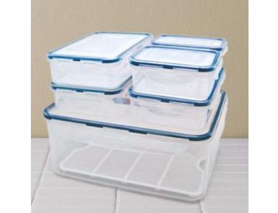 LOCK & LOCK™ 13-Piece Rectangular Container Set $18.74  #SEARSBACK2CAMPUS