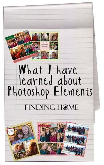 Tips and Tricks I have learned using Photoshop Elements www.findinghomeonline.com #photoshop #photography